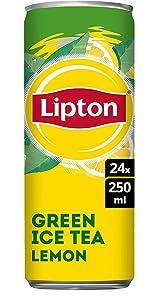 Lipton Ice Tea Green Lemon 24 x 250 ML