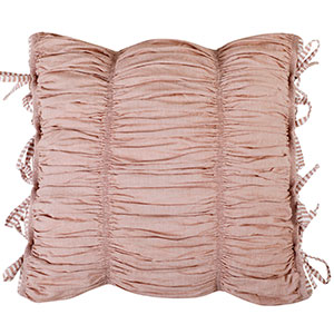 ruffles cushion covers set vintage  tie up on sofa or your bed