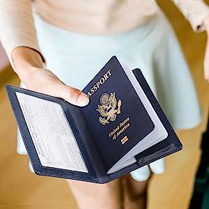 passport vaccine card holder