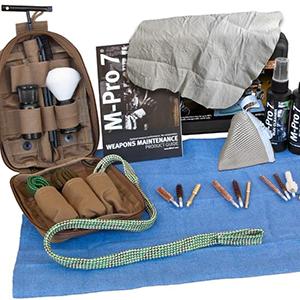 Gun cleaning kit workbench