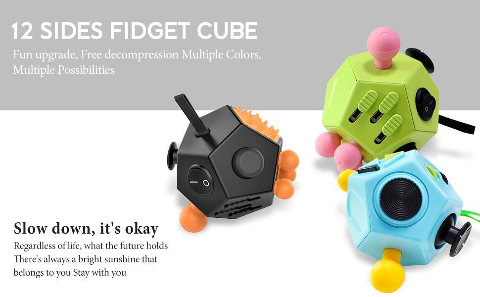12 Sided Fidget Cube
