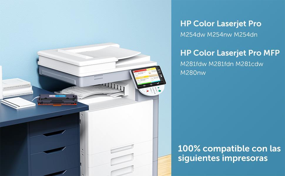 HP 203X 203A CF540X CF540A