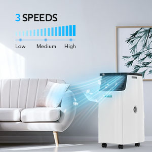 Portable Air Conditioner for Room Dehumidifier 14000BTU Portable Air Conditioning for Bedroom 7