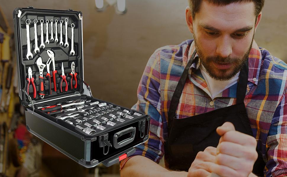 Why choose 799 aluminum tool sets?