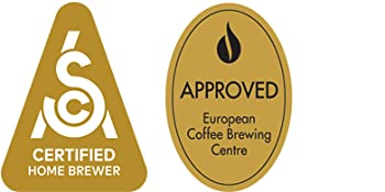 Specialty Coffee Association and European Coffee Brewing Center Certifications