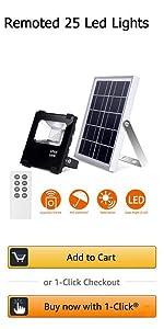 Richarm 10W solar light