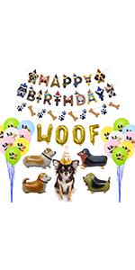 Dog Birthday Party Decorations