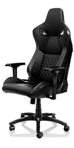 computer gaming chair black