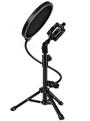 Desk mic stand set