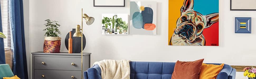contemporary wall decor;boho wall decor;shabby chic art;kids; art;giclee print;art set;piece art set