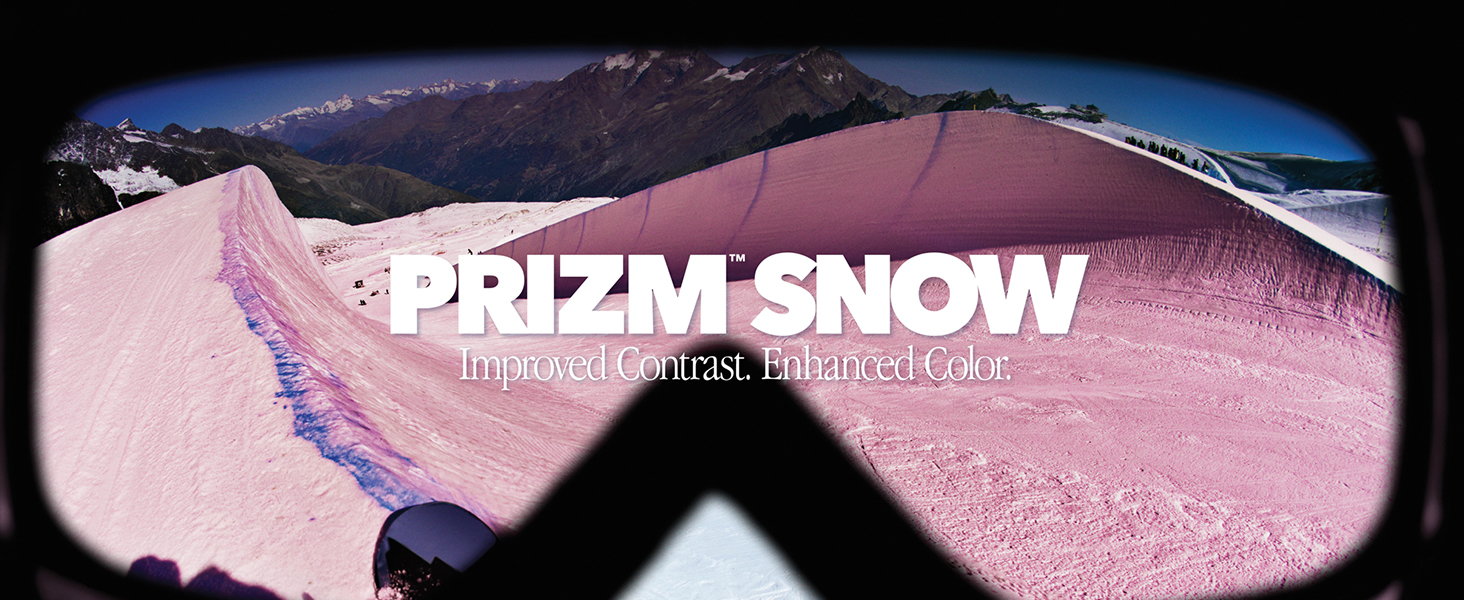 Prizm Snow: Improved Contrast. Enhanced Color.