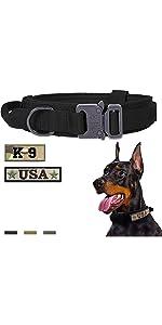 Tactical Dog Collar Black