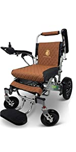 Electric Wheelchair for Adults, Foldable Lightweight Motorized Power Wheelchair