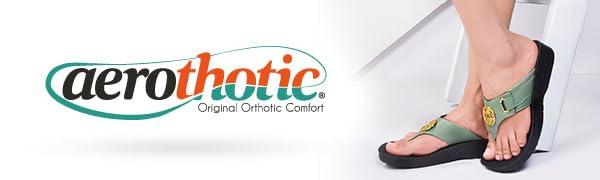 Aerothotic sandals for women