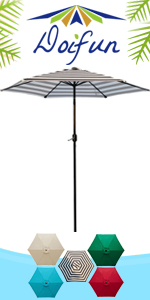 9ft Round Patio Umbrella