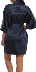 bridal robes for bridesmaids