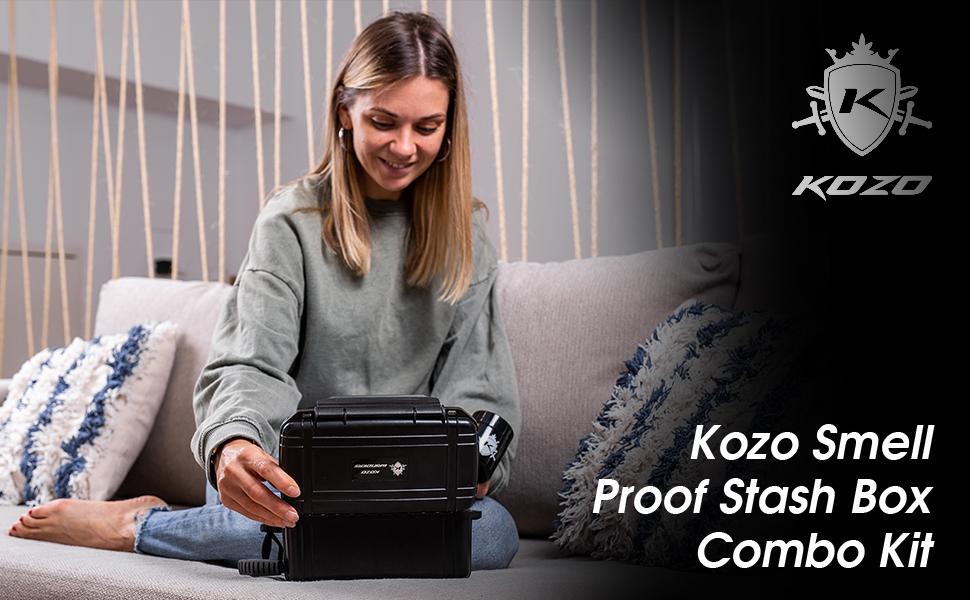Kozo Black Stash Box