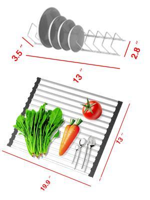 Dish Drying Rack Kitchen Organizer set
