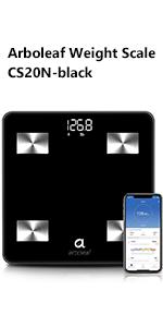 arboleaf digital scale weight scale smart scale