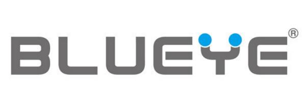 BLUEYE LOGO for LED CUBE STOOL