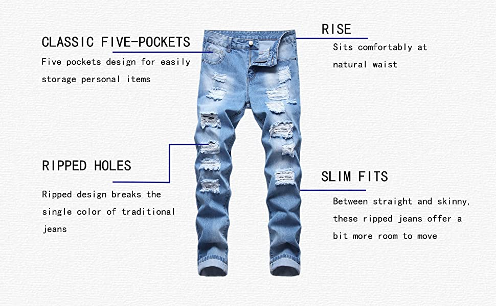 DETAILS OF RIPPED JEANS