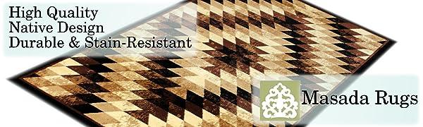 Masada area rugs Stephanie collection