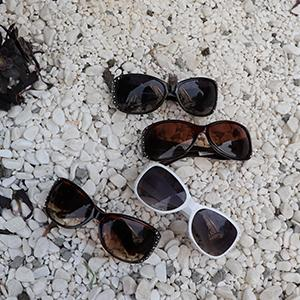 Montana West Women Western Horses Sunglasses with Rhinestones