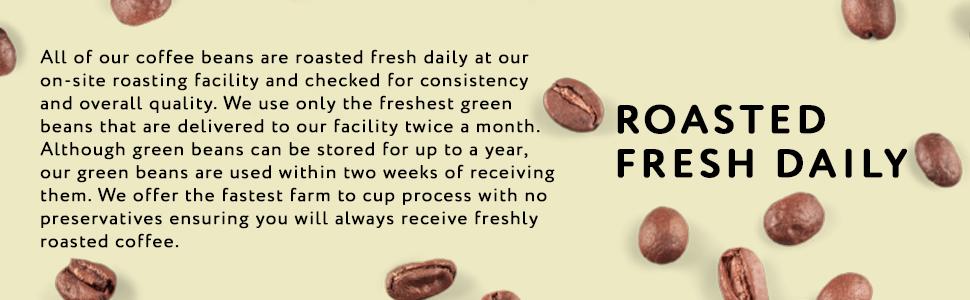 Roasted Fresh Daily Coffee from Barista Joe's