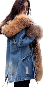 Denim Winter Coats