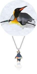 penguin jewelry gift for family,couples,penguin lovers on birthday