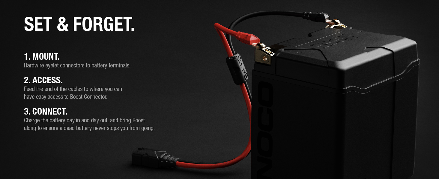 NOCO GBC007 Boost 18.5-Inch X-Connect Adapter Extension Cable For GB20/GB40/GB50 NOCO Boost