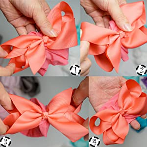 how to fluffy pop hair bows