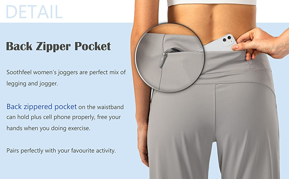 womens joggers with pocket