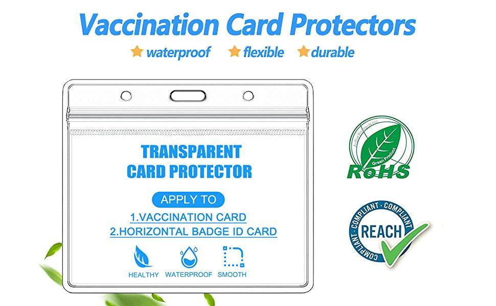 Vaccination Card Protectors