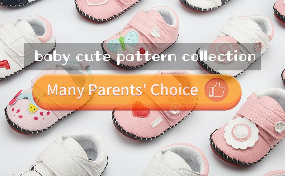 baby cute cartoon pattern sneaker