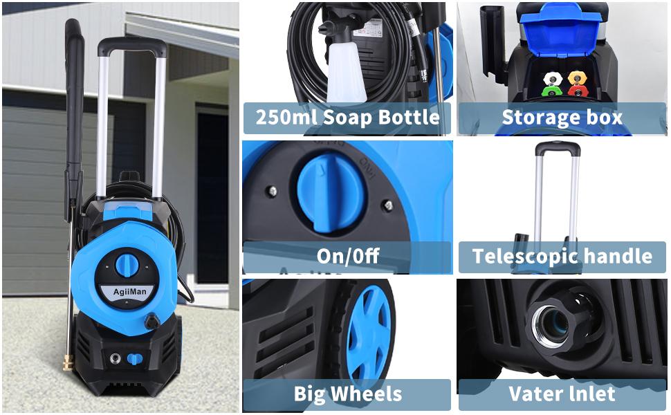 Portable Pressure Car Washer