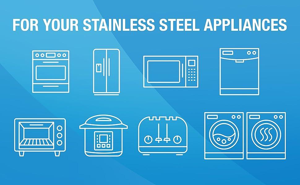 oven, fridge, microwave, dishwasher, toaster oven, crockpot, toaster, washer and dryer appliances