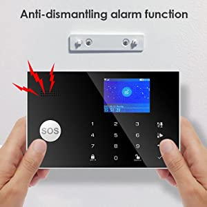 alarm security system home wireless gsm 4g