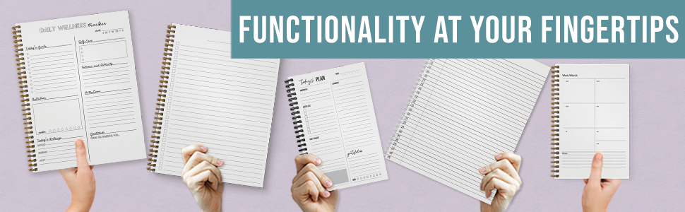functionality at your fingertips