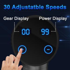30 adjustable speeds