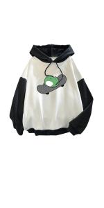 Women's Frog Hoodies Sweatshirt