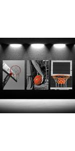 sports wall decals for boys room, sport wall art, basketball home decor