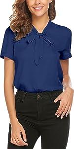 womens short sleeve business shirts