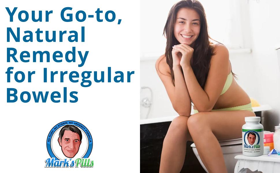 MarksPills All natural bowel movement help