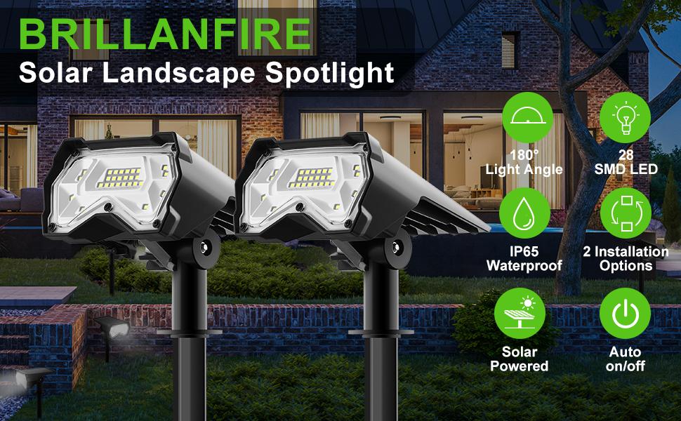 Solar Landscape Spotlight