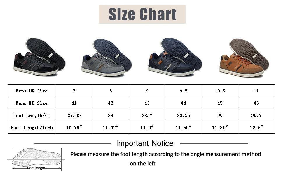 sneakers hommes size