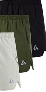 Menamp;#39;s Running Stretch Quick Dry Shorts