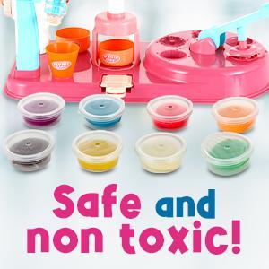 non toxic clay