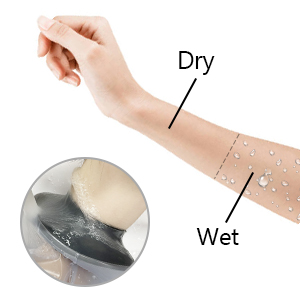 picc line shower cover upper arm
