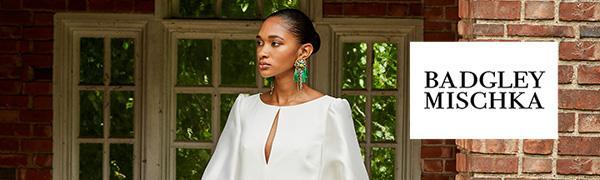Badgley Mischka fashion jewelry earrings earring statement bridal wedding special occasion jewel